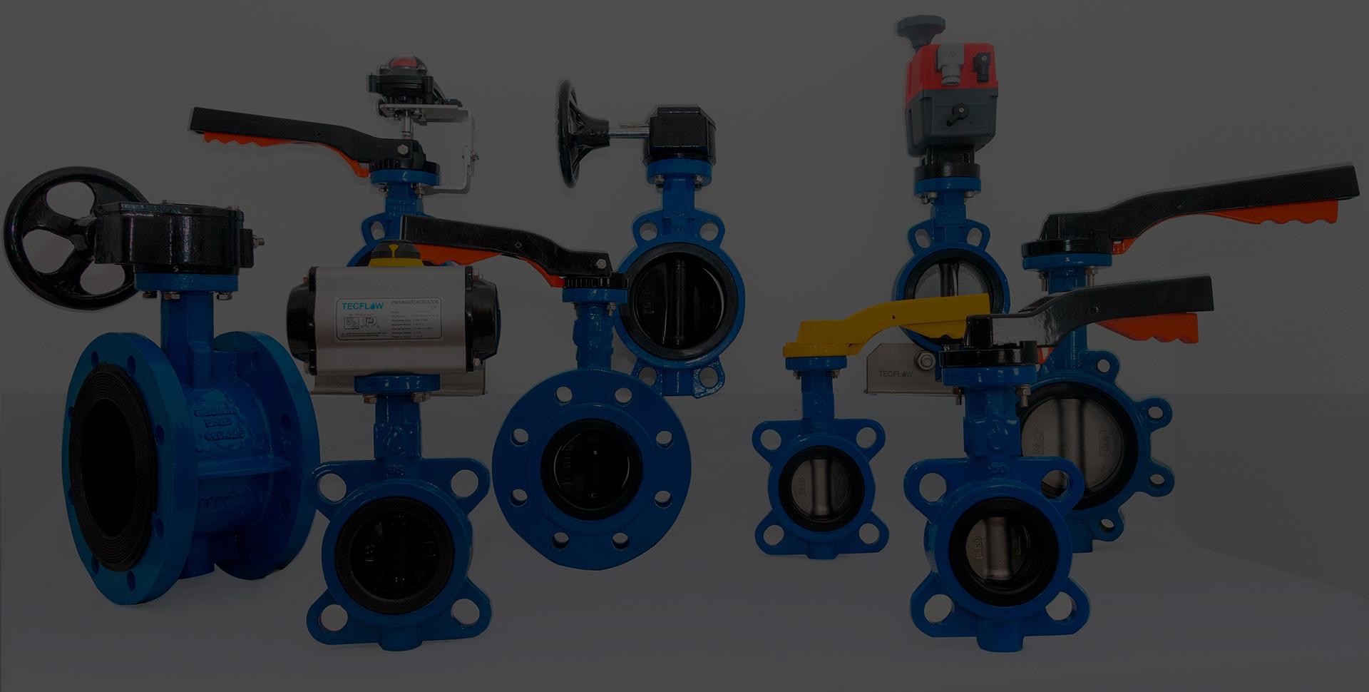Tipos de desplazamientos en una válvula